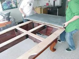 Pool table moves in Terre Haute Indiana